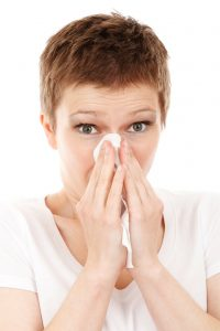 allergies jaw pain