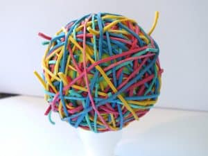 how fast do rubber bands move teeth