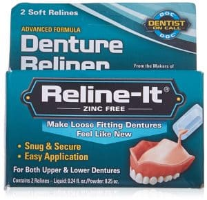 how to reline dentures yourself